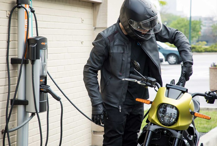 electric-motorcycle-charging-outlet