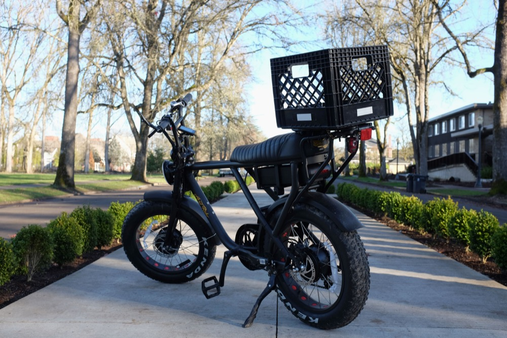 DIY Removable Rear Bike Basket – Quick Release for eBikes